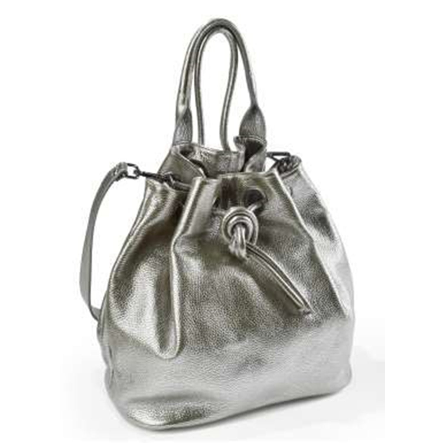 Dollaro Large Leather Knot Bag (B145)