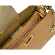 ONE & ONLY Palmellato Champagne Medium Tote (B240)