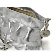 ONE & ONLY Silver Chain Cross-Body (B246 Lam.)