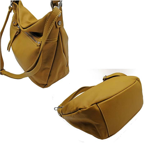 Hobo's bag in Dollaro Leather (B357U)