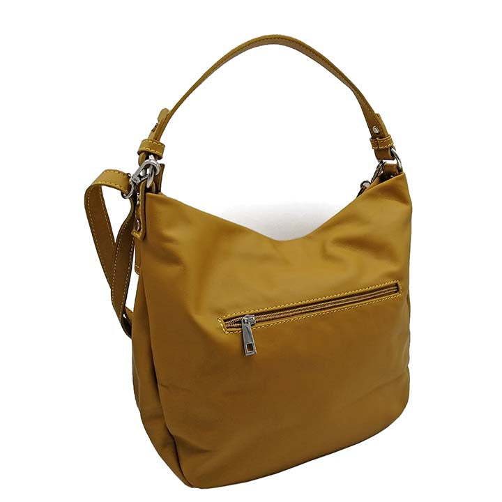 Work-day Hobo's bag in Dollaro Leather (B357U)