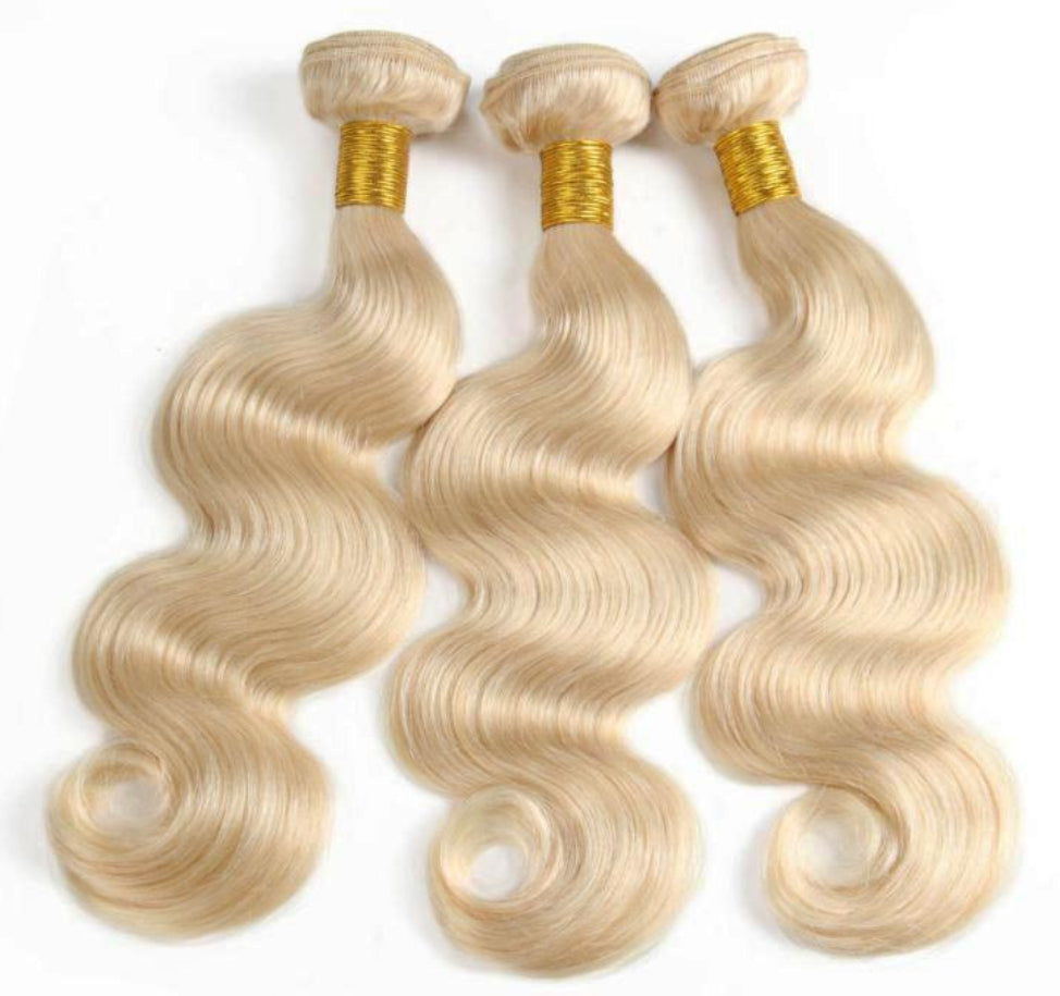 3 Blonde Body Wave