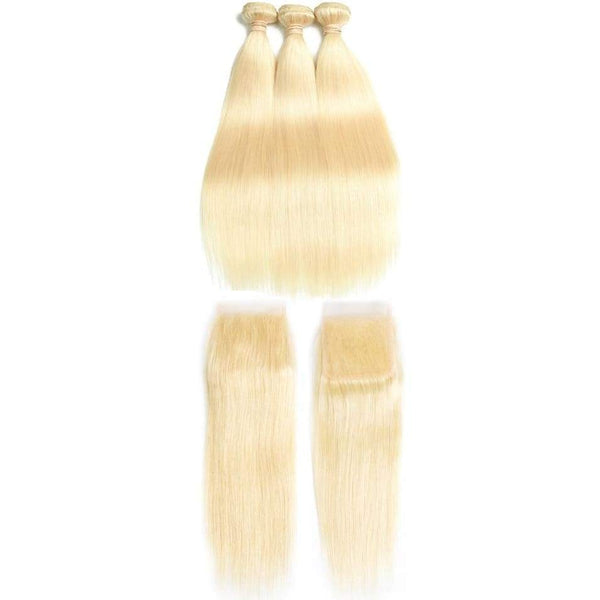 Blonde Brazilian Straight 4pc