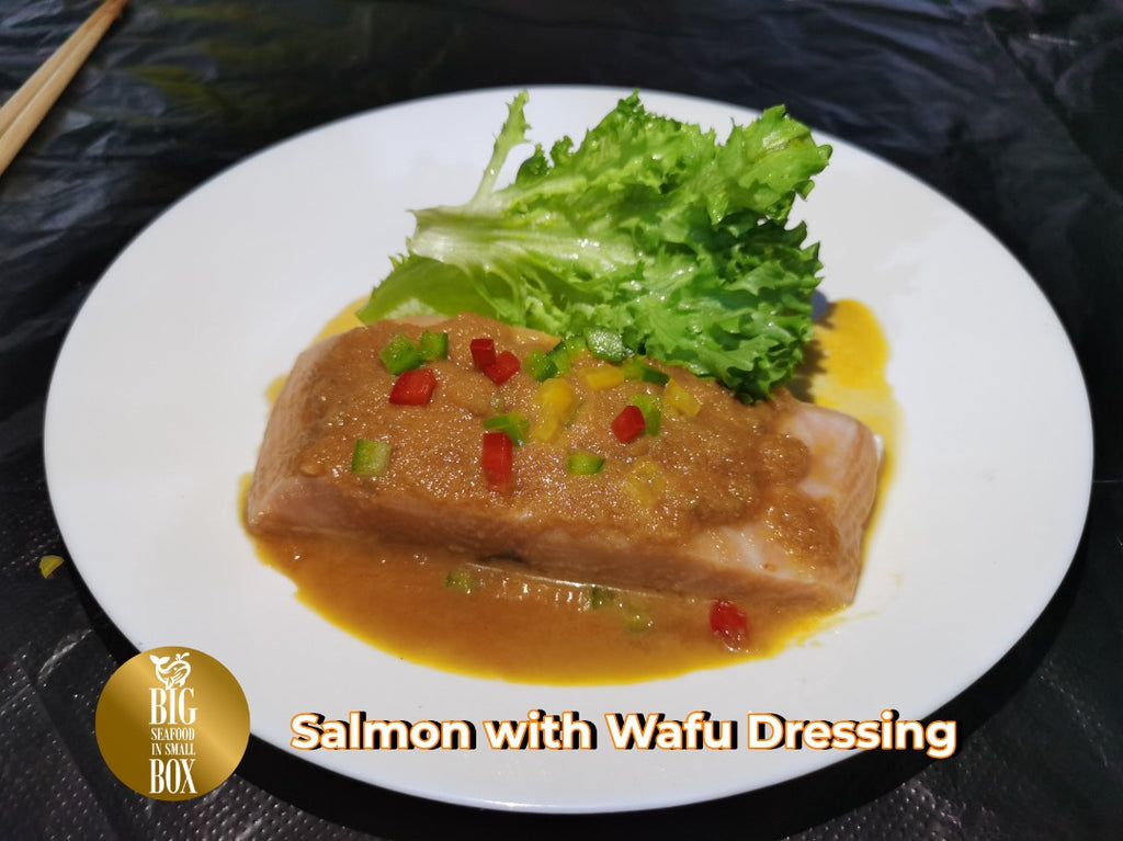 Ready To Eat: Salmon with Wafu Dressing