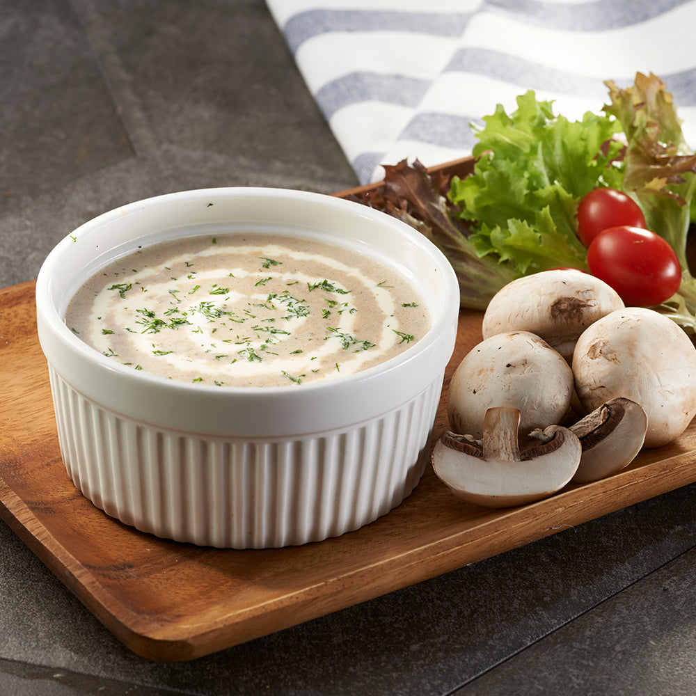 Cream of Forest Mushroom (Mushroom Soup)