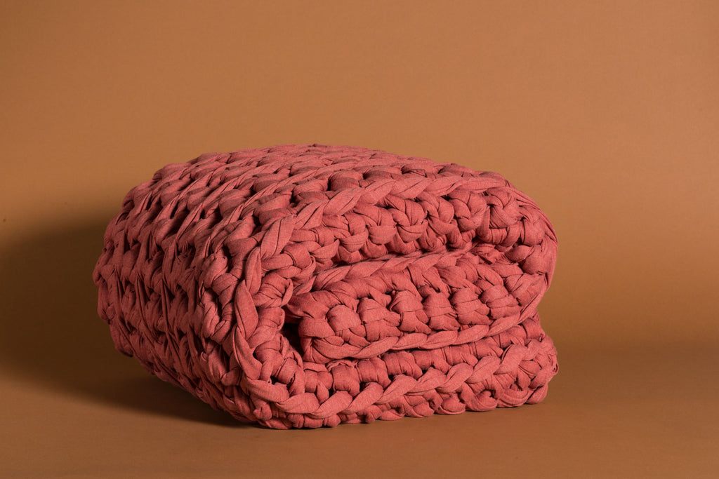 Coral Weighted Blanket
