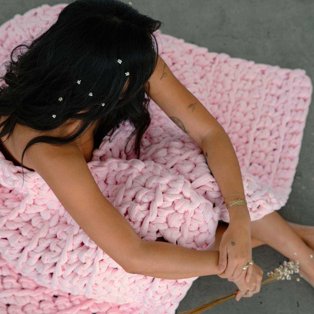 Cotton Candy Weighted Blanket