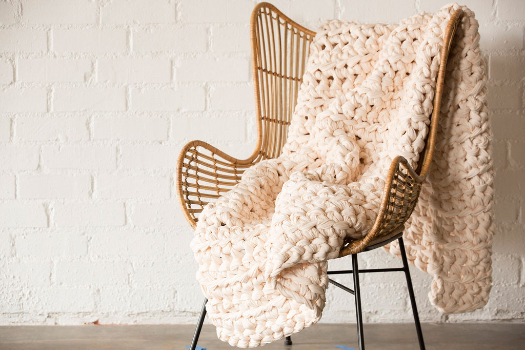 Ivory Weighted Blanket (last chance)