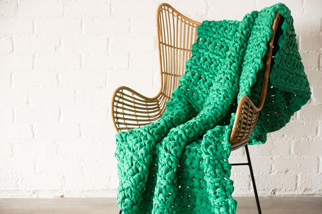 Kelly Green Weighted Blanket (last chance)