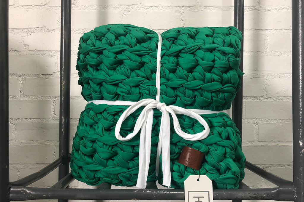 Kelly Green Weighted Blanket