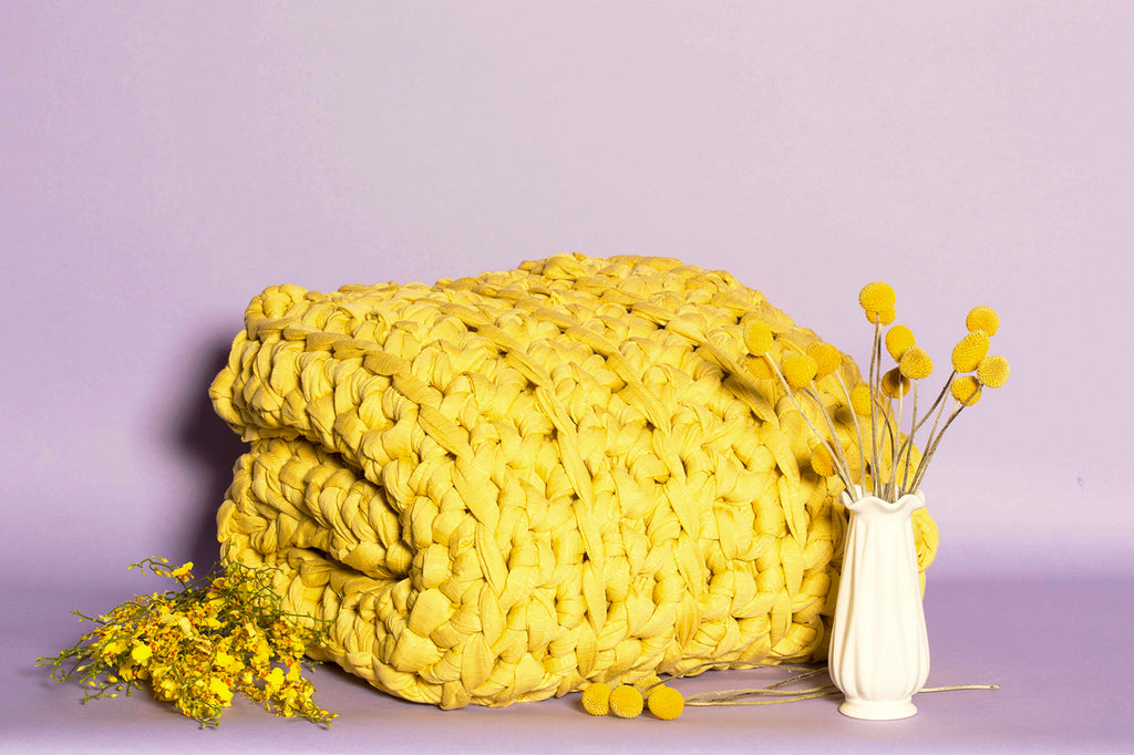 Lemon Drop Weighted Blanket