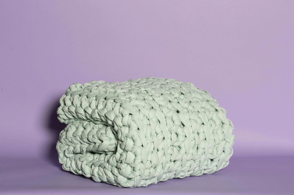 Sea Foam Weighted Blanket