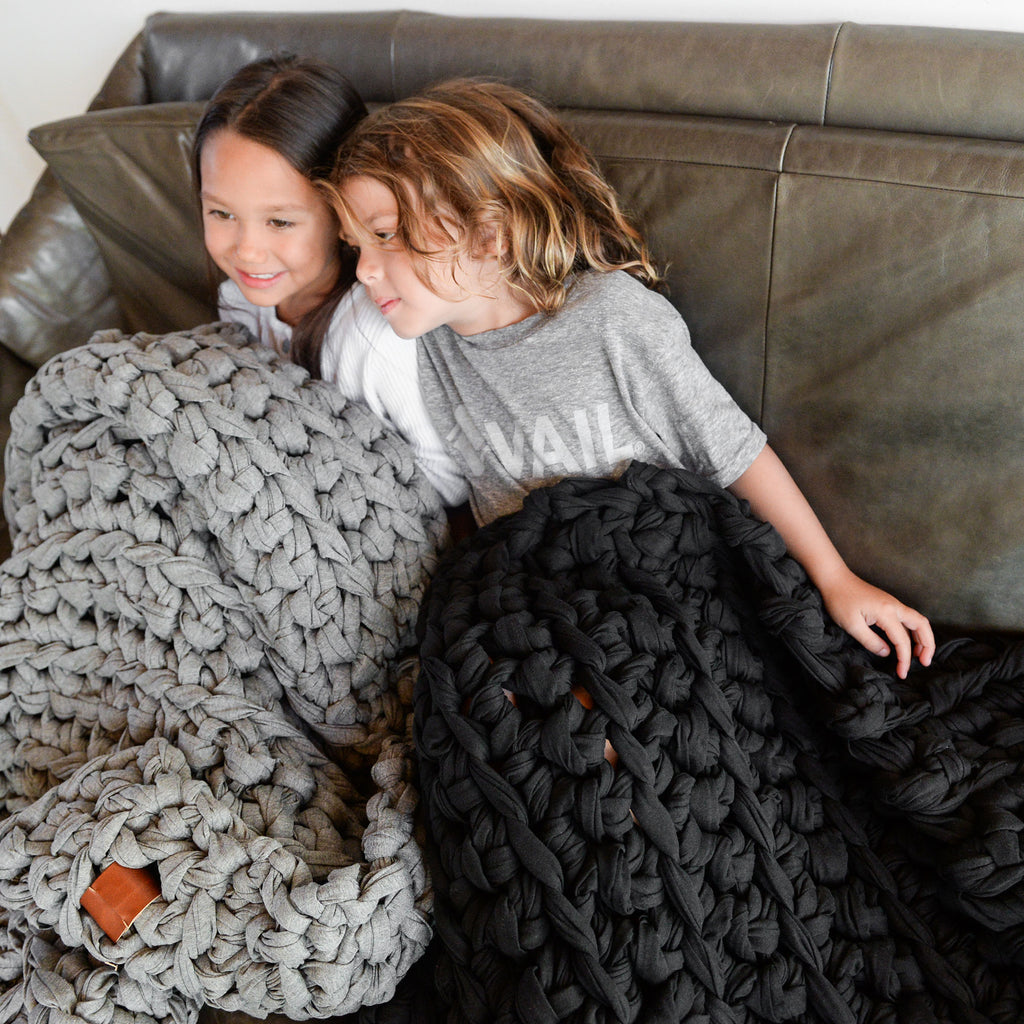 Vintage Noir Weighted Blanket