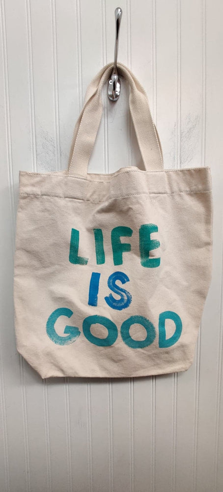 Life is Good Canvas Tote Bag