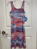 Columbia Freeze Summer Dress - Blue/Pink Pattern (SIZE EXTRA SMALL)