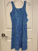 Columbia Summer Dress - Blue/Green (Size Extra Small)