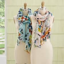 Butterfly Scarf Asst 2 Colors