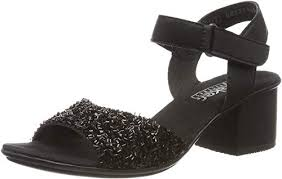 RIEKER SANDALS 64689-00 CLR-BLACK