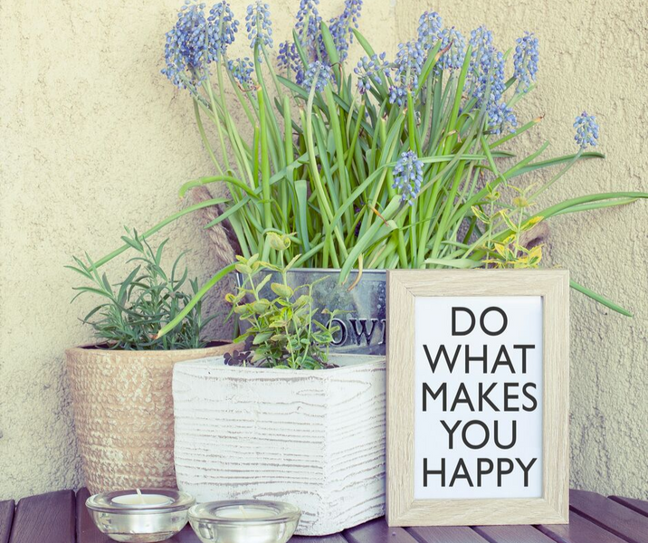 Does the process of making & creating new things making us happier ?