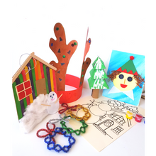 Load image into Gallery viewer, Christmas crafts for kids