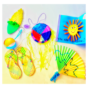 Six Summer crafts for kids