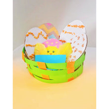 Load image into Gallery viewer, Easter Basket with Easter Eggs Craft for kids
