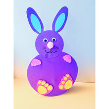 Load image into Gallery viewer, Rocking Easter Bunny Craft for kids