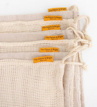 Load image into Gallery viewer, Set of 7 Reusable Produce Bags