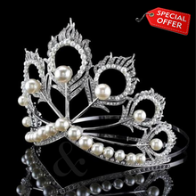 Load image into Gallery viewer, Mikimoto Crown (Miss Universe) Replica Tiara