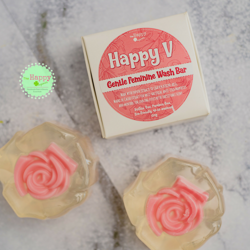 Happy V Gentle Feminine Wash Bar