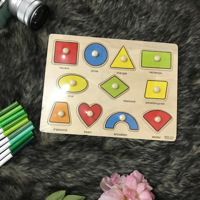 Kids Wooden Puzzle Board (Intro Price)