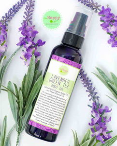 Bestseller! Lavender and Green Tea Body Oil