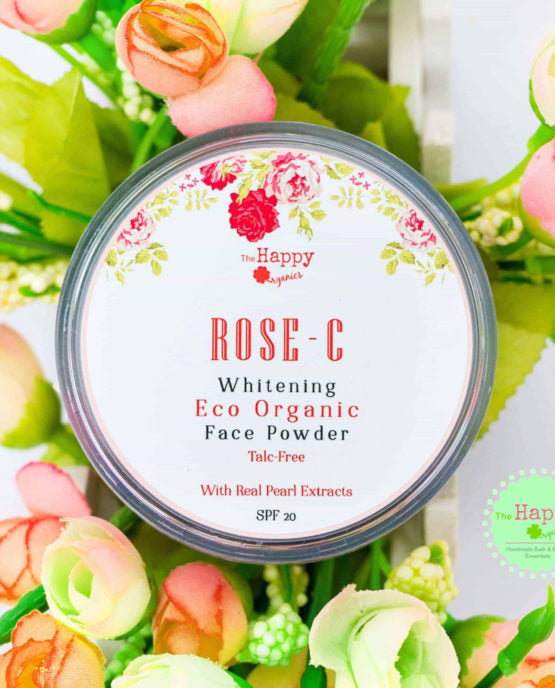 Rose-C Whitening Eco-Organic Face Powder SPF20