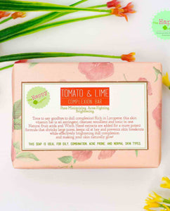 Tomato and Lime Complexion Bar