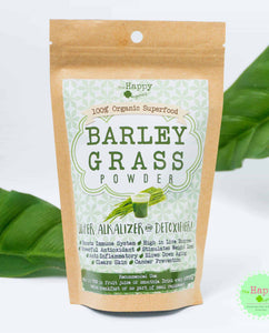 Pure Barley Grass Powder (Hordeum Vulgare)
