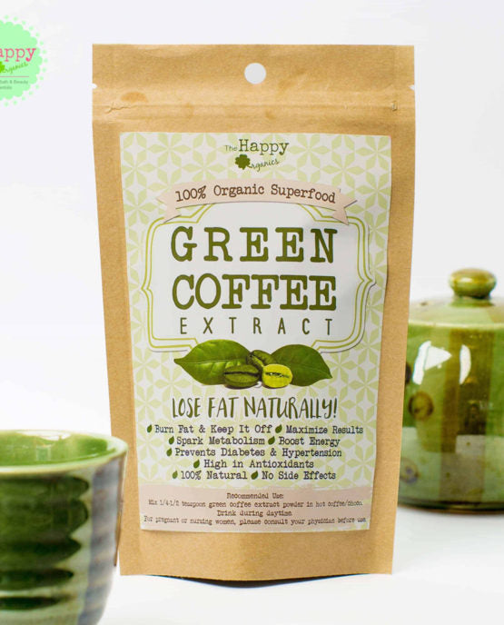 Green Coffee Bean Extract Powder Cache Reserves