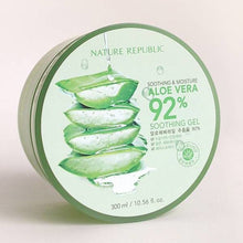 Load image into Gallery viewer, Nature Republic Aloe Vera 92% Soothing Gel (300ml)