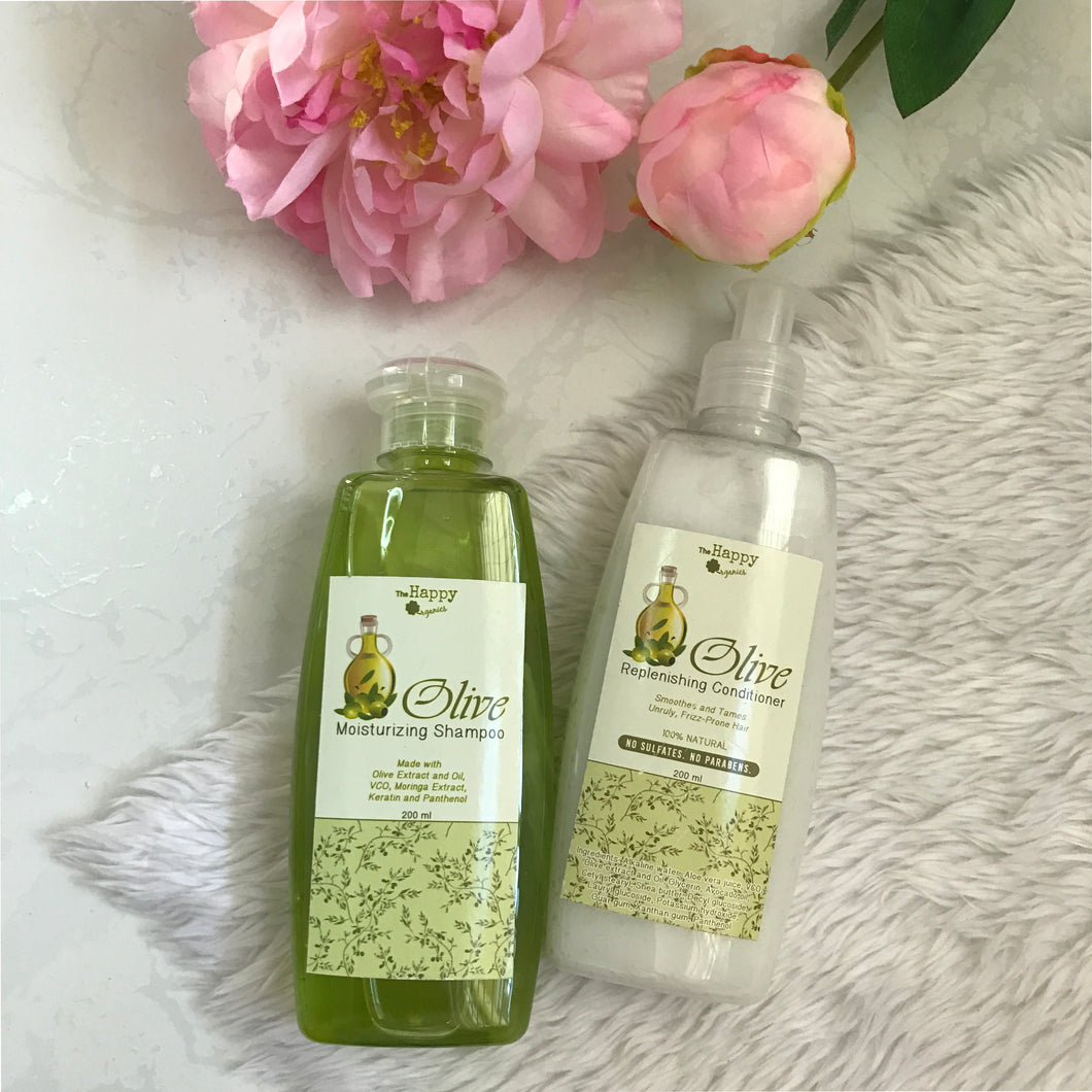 Olive Shampoo and Conditioner