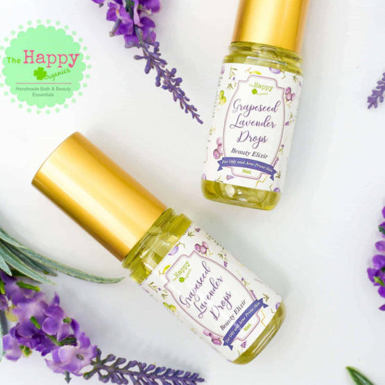 Grapeseed Lavender Drops Beauty Elixir For Oily & Acne Prone Skin