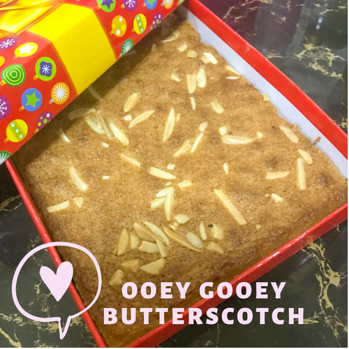 Summer Bakes Butterscotch Blondies