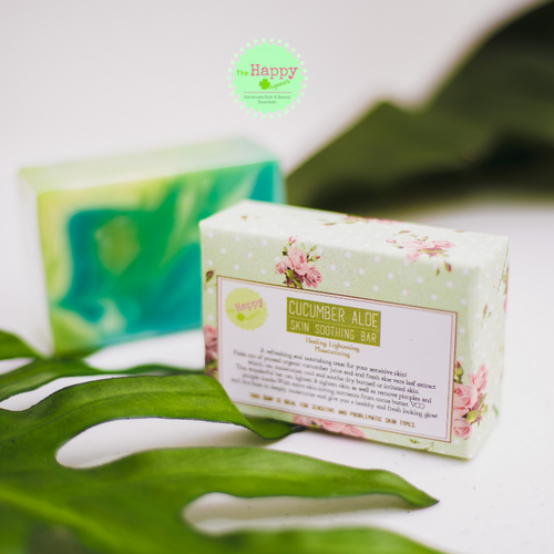 Cucumber Aloe Skin Soothing Bar