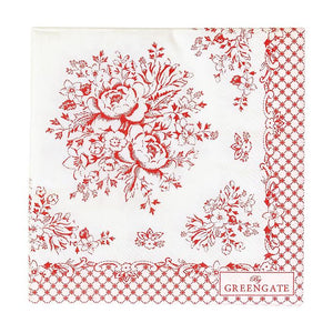 Origin: Denmark / Each pack contains 20pcs of thick and high quality paper napkin. Made with food-grade paper. Great for parties or decoupage DIY projects.