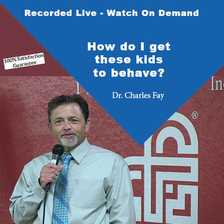 How Do I Get These Kids to Behave? - Webinar