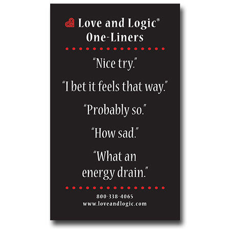 Love and Logic Magnet