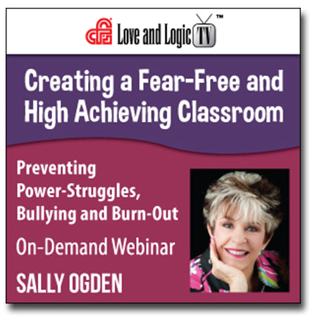 Creating a Fear-Free and High Achieving Classroom - Webinar