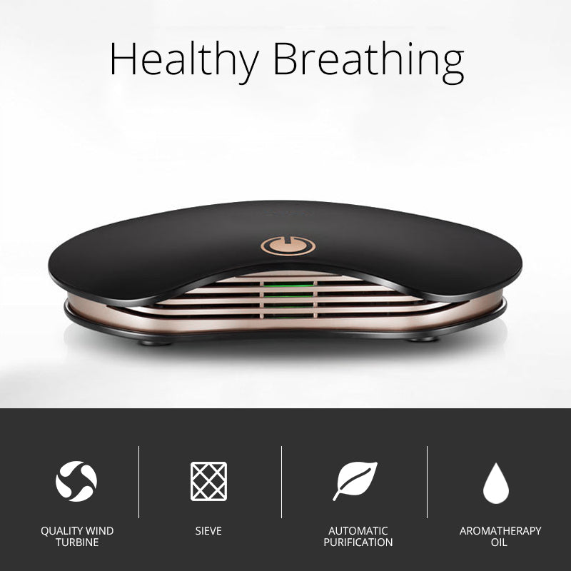 Air Purifier PM2 5 Formaldehyde Smell Removal Ozone Generator USB Air  Cleaner