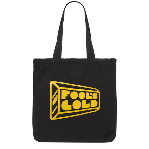 "Fool's Gold ""Logo"" Tote - Black / Gold"