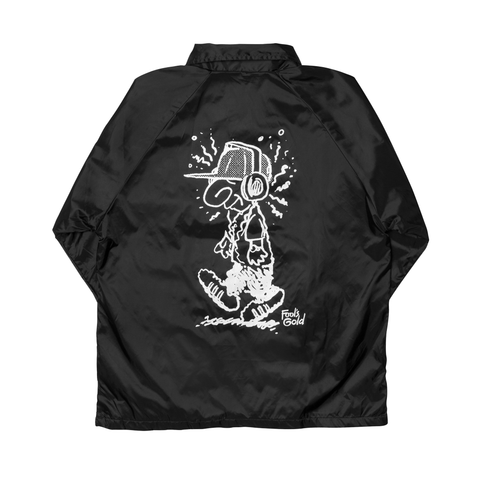 "Fool's Gold ""Loud Boy"" Coaches Jacket - Black"