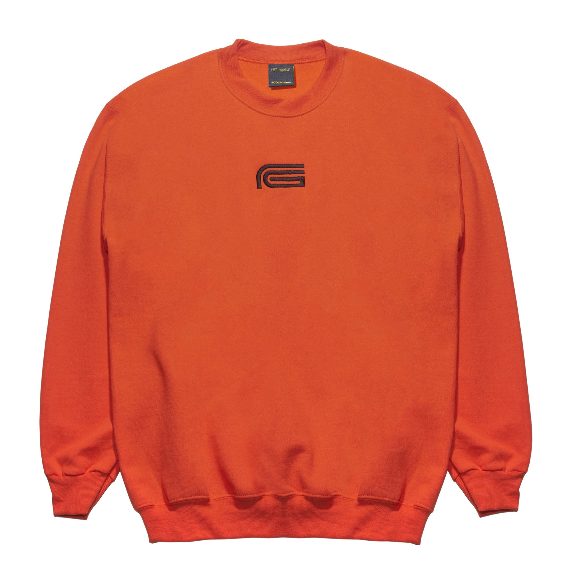 "Fool's Gold ""808"" Embroidered Crewneck"