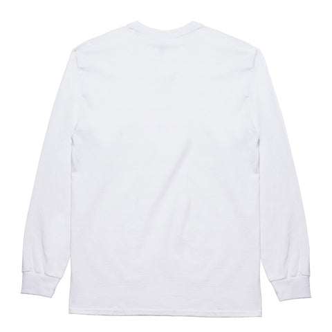 "Fool's Gold ""Alphabetical"" Longsleeve - White"